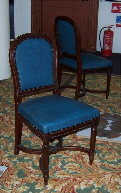 rms majestic saloon chairs