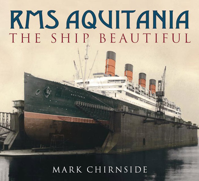 rms aquitania book cover