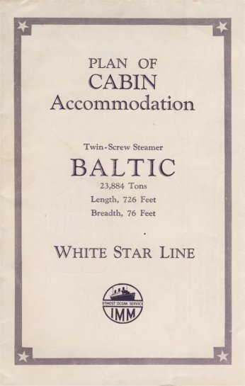 Baltic Plan Cabin Accommodation