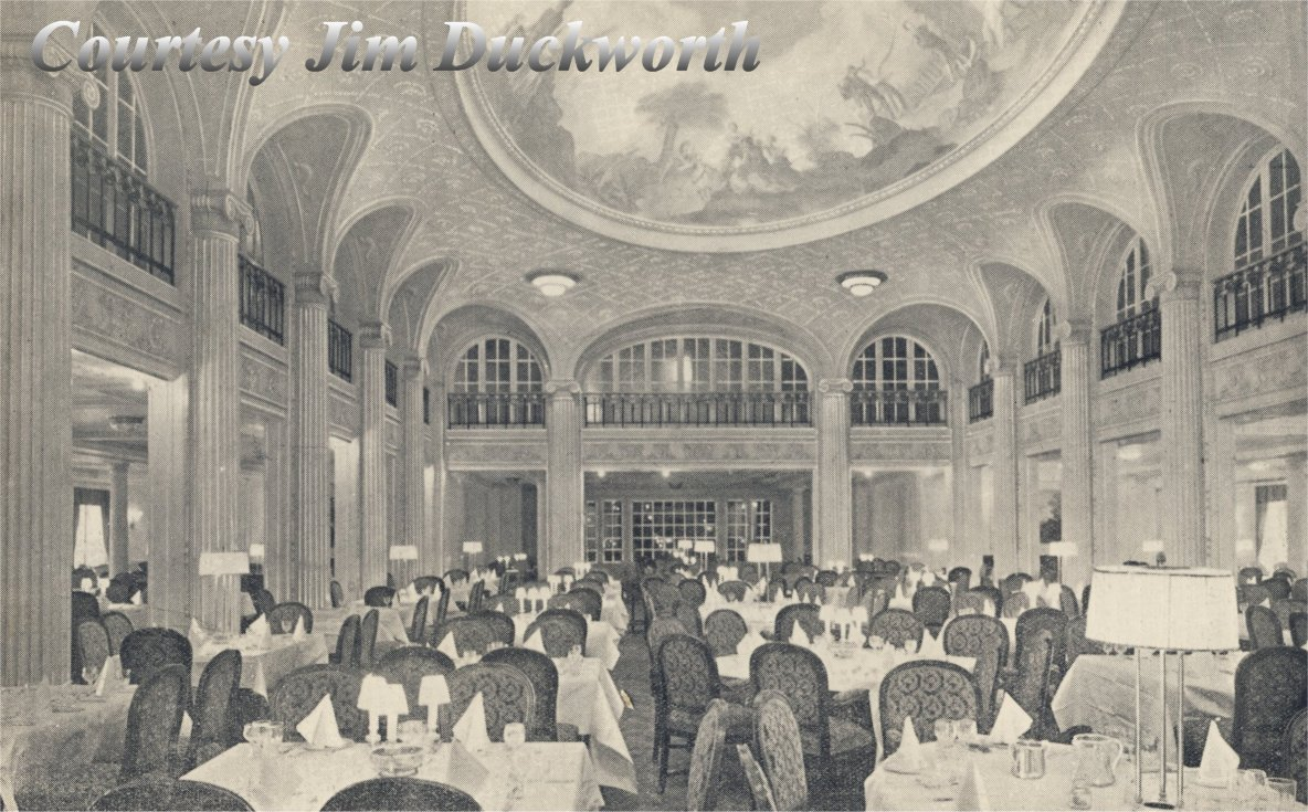 RMS Majestic First Class Dining Saloon